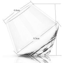 Crystal Glass Shaker Cup