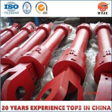 Soportes de cilindros hidráulicos de minería y cilindro hidráulico