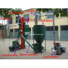 Máquina / molino de alimentación de pellets planos para alimentación animal (PM)