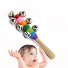 FQ marque drôle jouet éducatif Chine bruit maker enfants en bois bébé hochet jouets