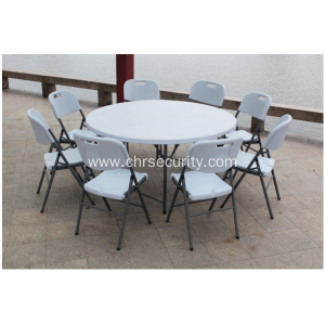 Banquet folding table and chair set
