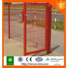 2016 Projetos de porta de suprimento de China para casas / metal design de portões modernos e cercas