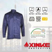 Vente en gros fonctionnelle de protection de sécurité durable haute visibilité FR chemise