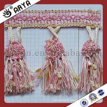 trims for curtains and other home decoration tassel fringes for curtain accessory for India market