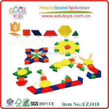 Hardwood Children Toys Cartoon Puzzle Blocks