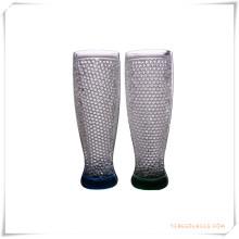 Tasse givrée à double paroi Tasse à bière glacée glacée pour cadeaux promotionnels (HA09078-4)