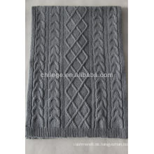 Lammwolle kniiting Schal der hohen Qualität