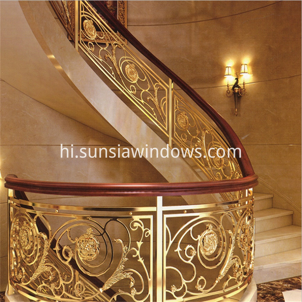 Magnesium Alloy Handrails for Stairs
