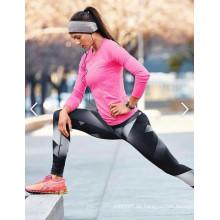 Kundengebundene Sport-feste Hosen-Eignungs-Yoga-Hosen-Gamaschen