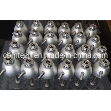 Advanced Oxygen Humidifier Bottles 170ml with Aluminum Lids