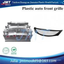 Huangyan fábrica de moldes de inyección de plástico auto parrilla delantera bien diseñado y de alta precisión con acero p20