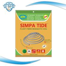 Unzerbrechliche Afrika Simpa Tide Pflanze Fiber Mosquito Coils / Mosquito Repeller