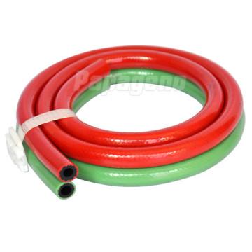 Manguera de soldadura doble de PVC para oxígeno y acetileno