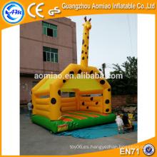 Vivid diseño al aire libre bouncer animales inflables inflables rebote casa bouncy