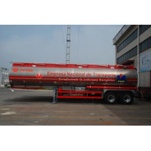 10 Years for PDVSA Petrol Tank Trailer PDVSA Aluminium Alloy Tank Semi-Trailer export to Brunei Darussalam Suppliers
