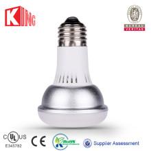 Dimmable 9W haut lumen E27 / E26 LED lampe UL R30 COB