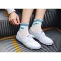2016 Girl′s Jacquard moda personalizar patrón calcetines
