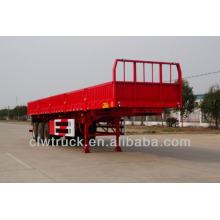 40T factory price dump semi trailer,3 axle semi dump trailers