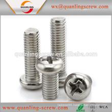 China wholesale custom cross recessed countersunk flat head machine screws
