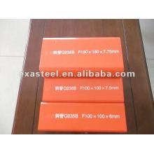 Q235 B Tubo / tubo de aço quadrado 100X100