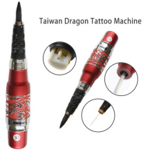 Machine à tatouer le dragon rouge