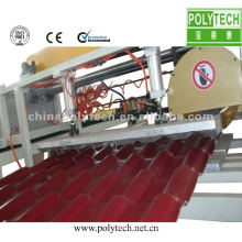 Linha de extrusão de telha vitrificada PVC / ASA