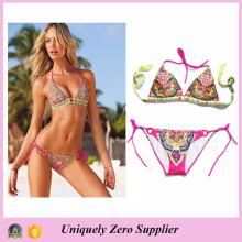 Hot Venda Estilo Mulher Senhora Adulto Sexy Floral Imprimir Biquini Mulheres Swimwear 2016