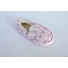 Chaussures Loafer avec arc de grain brut