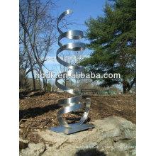 sculptures de jardin extérieures en acier inoxydable- VSSSP-107A