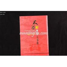 Fábrica do chá de Menghai Dayi Livro do livro do chá de Pu Er