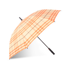 Auto Open Streak Printing Foam Handle Straight Umbrella (BD-73)