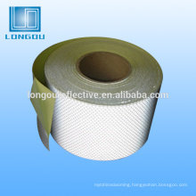 white reflective masking duct tape
