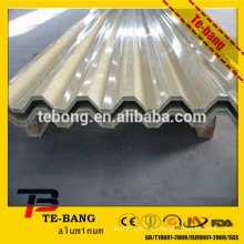 Hoja de aluminio del tejado Precios de aluminio por tonelada