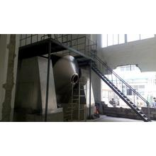 Double conical revolving vacuum dryer in pharmaceutical