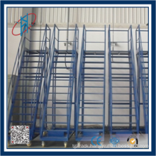 warehouse used metal step ladder trolley