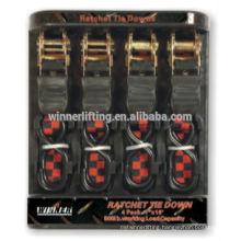 25mm Ratchet straps