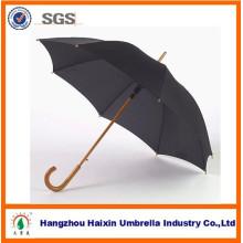 Wooden Umbrella for Rain Promotion Gift