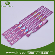 Модный эко-браслет с логотипом сублимационной печати