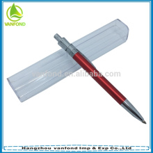 Hot selling promotional metal ballpen/aluminium pen with logo