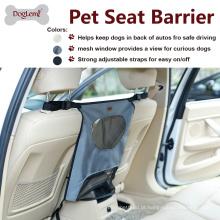 Barreira de veículo de cão entre frente dois assentos Prático acessório de carro novo Design tampa de assento de carro