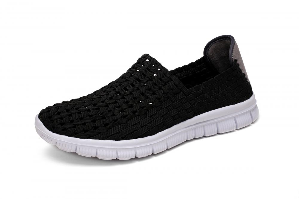 Elastic Hand-woven Hollow Shoes