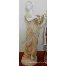 Резная нефритовая каменная скульптура для домашнего украшения (SY-C1225)