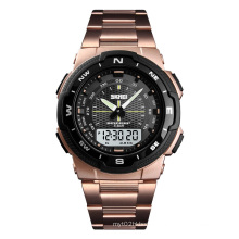 Foreign SKMEI 1370 Luxury  Watches Rose Gold pointer Wrist Watch