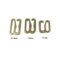 Günstige Großhandel Eco-Friendly Metall-BH Ring und Slider