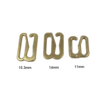 High Quality Promotional Sale Gold Metal Bra Buckle Adjuster