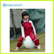 PU impermeable PU traje para lluvia de niño chico de traje para lluvia impermeable niños impermeable