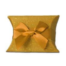 Caja de embalaje personalizada del jabón del estilo de la almohada
