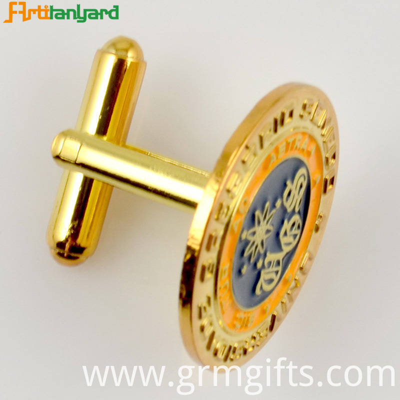 Metal Cufflinks Customized