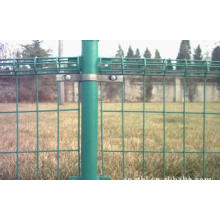 Clôture de doubles boucles galvanisées / PVC enduites en Chine