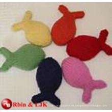 OEM suave ICTI juguete de peluche fábrica de juguetes de felpa de gato lindo hecho a mano